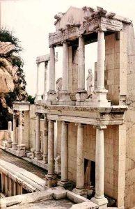 The Roman Theatre in Plovdiv